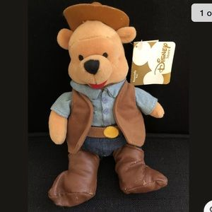Disney Exclusive Dallas Texas Cowboy Pooh Series#9